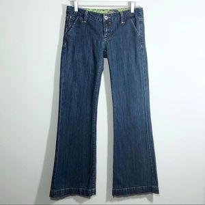 Miss Me Geneva Wide Leg Jeans JP4480 Size 28